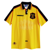 1998 World Cup Scotland Away Yellow Retro Soccer Football Kit Men