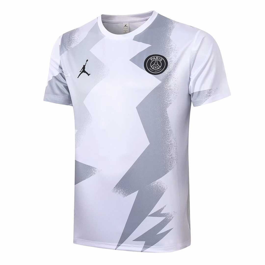 2020-21 PSG White Men Soccer Football Training Top