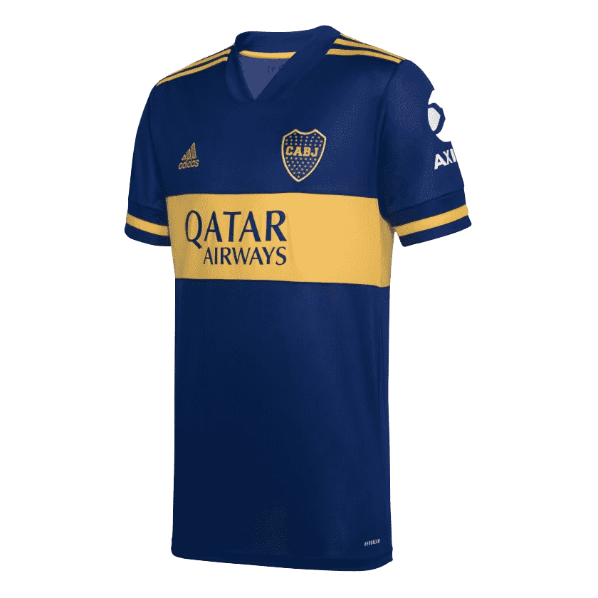 2020-21 Boca Juniors Home Men Soccer Football Kit